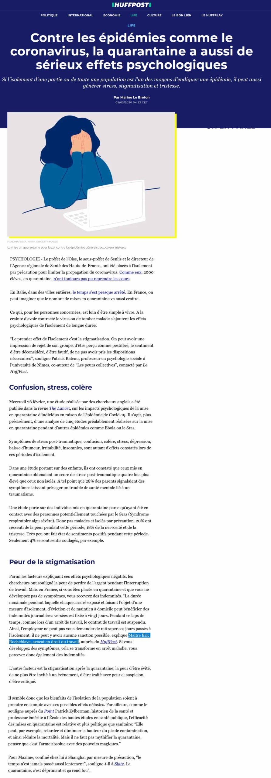 coronavirus-quarantaine