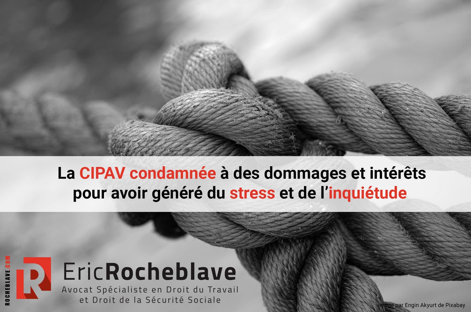La CIPAV condamnée à des dommages et intérêts pour avoir généré du stress et de l'inquiétude