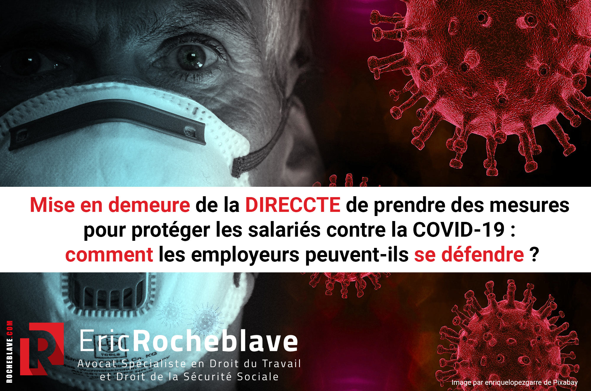 Mise en demeure de la DIRECCTE de prendre des mesures pour protéger les salariés contre la COVID-19 : comment les employeurs peuvent-ils se défendre ?