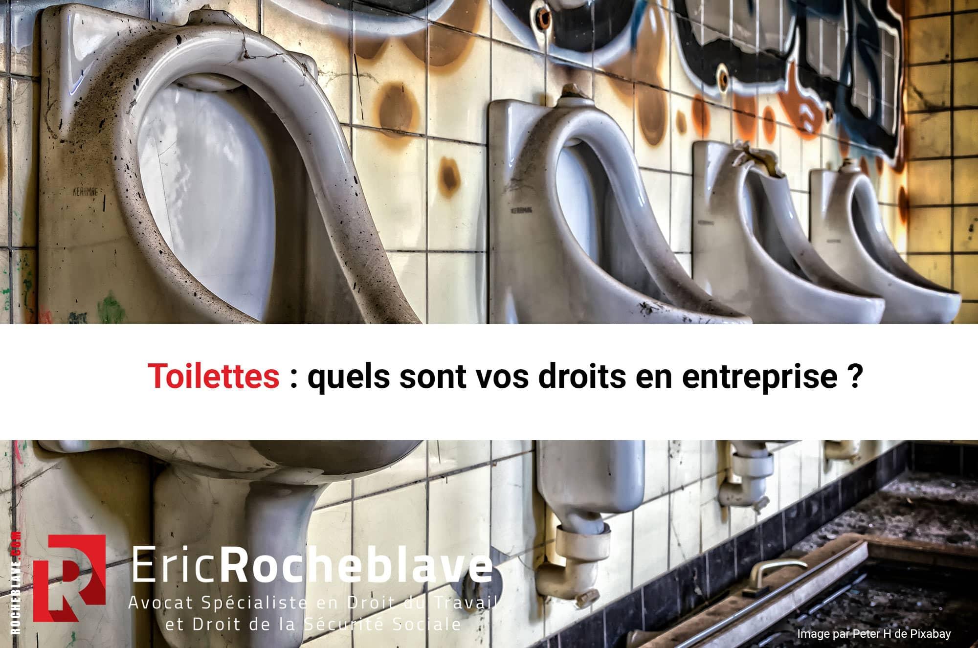 Toilettes : quels sont vos droits en entreprise ?