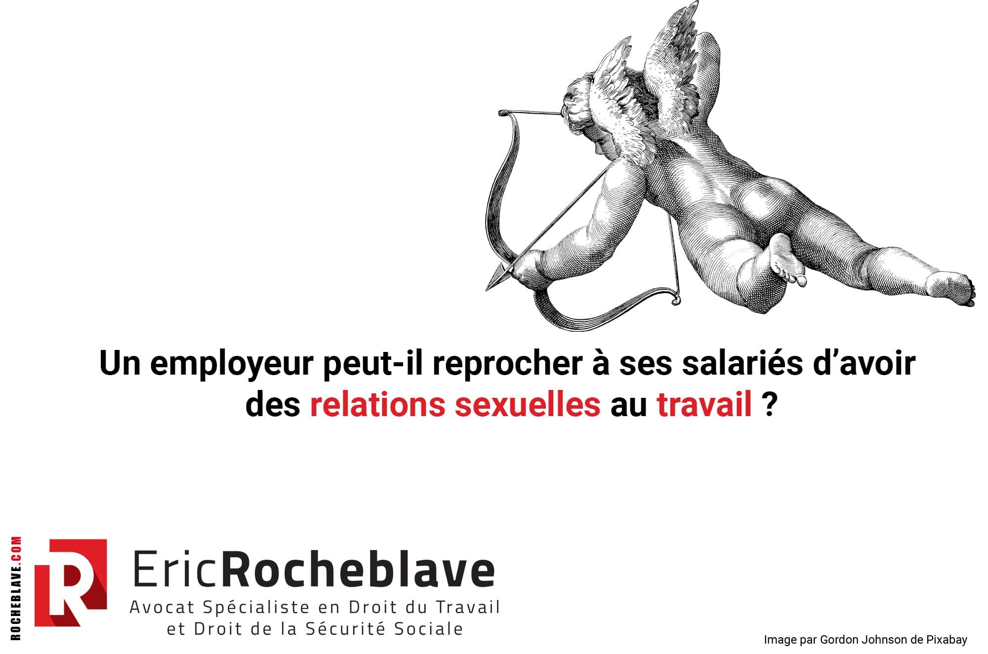 Un employeur peut-il reprocher à ses salariés d'avoir des relations sexuelles au travail ?