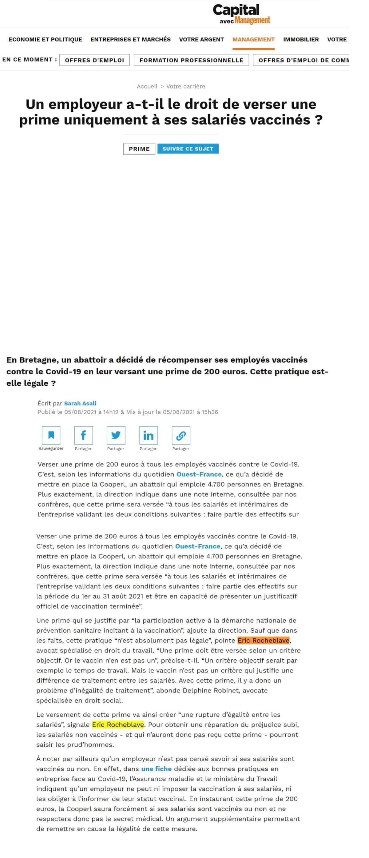 https://www.capital.fr/votre-carriere/un-employeur-a-t-il-le-droit-de-verser-une-prime-uniquement-a-ses-salaries-vaccines-1411395