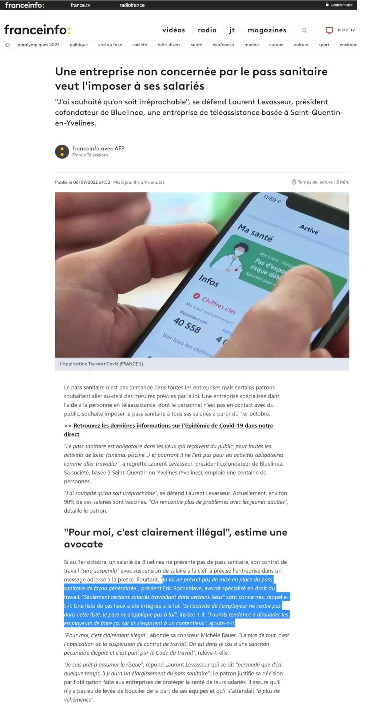 https://www.francetvinfo.fr/sante/maladie/coronavirus/pass-sanitaire/une-entreprise-non-concernee-par-le-pass-sanitaire-veut-l-imposer-a-ses-salaries_4761885.html