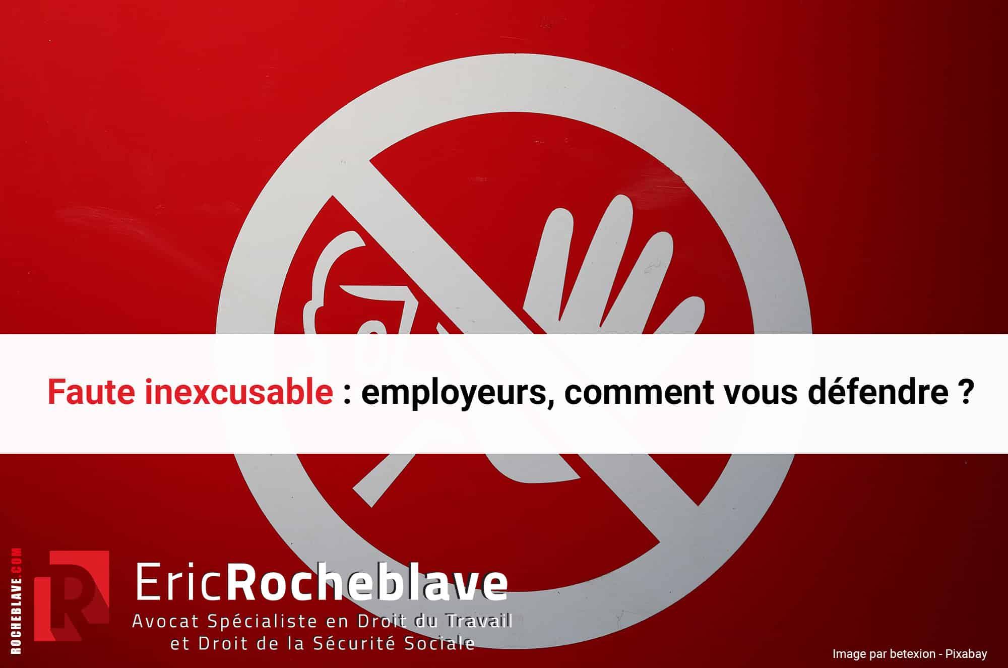 Faute inexcusable : employeurs, comment vous défendre ?